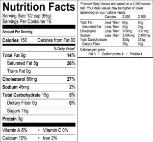 icecream-nutrition-label